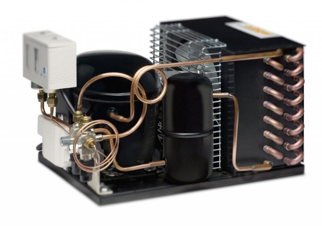 klimatizace kondenzační jednotka